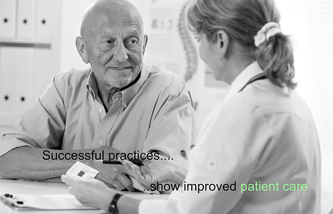 Successful practices show improved patient care